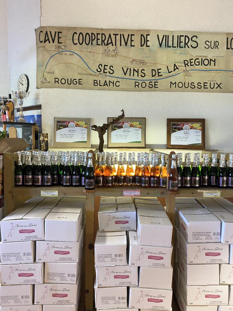 Vins pétillants cave du vendômois